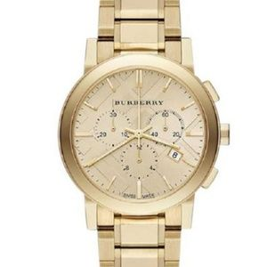 New Burberry Unisex The City Chrono Bu9753 Watch